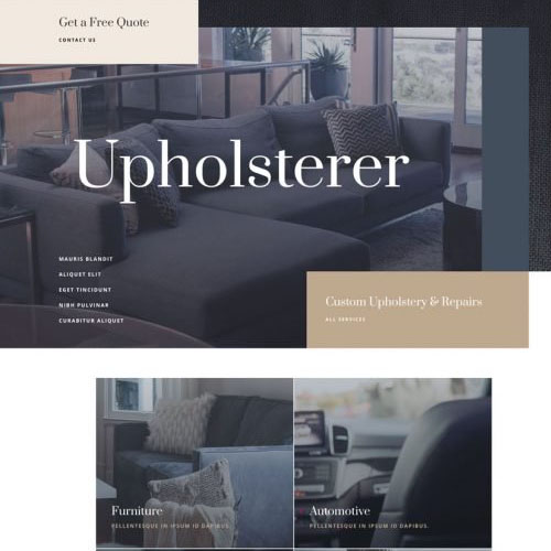 Upholsterer Featured